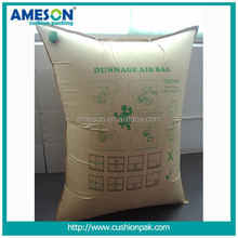 China Wholesale Market disposable inflatable paper dunnage bag