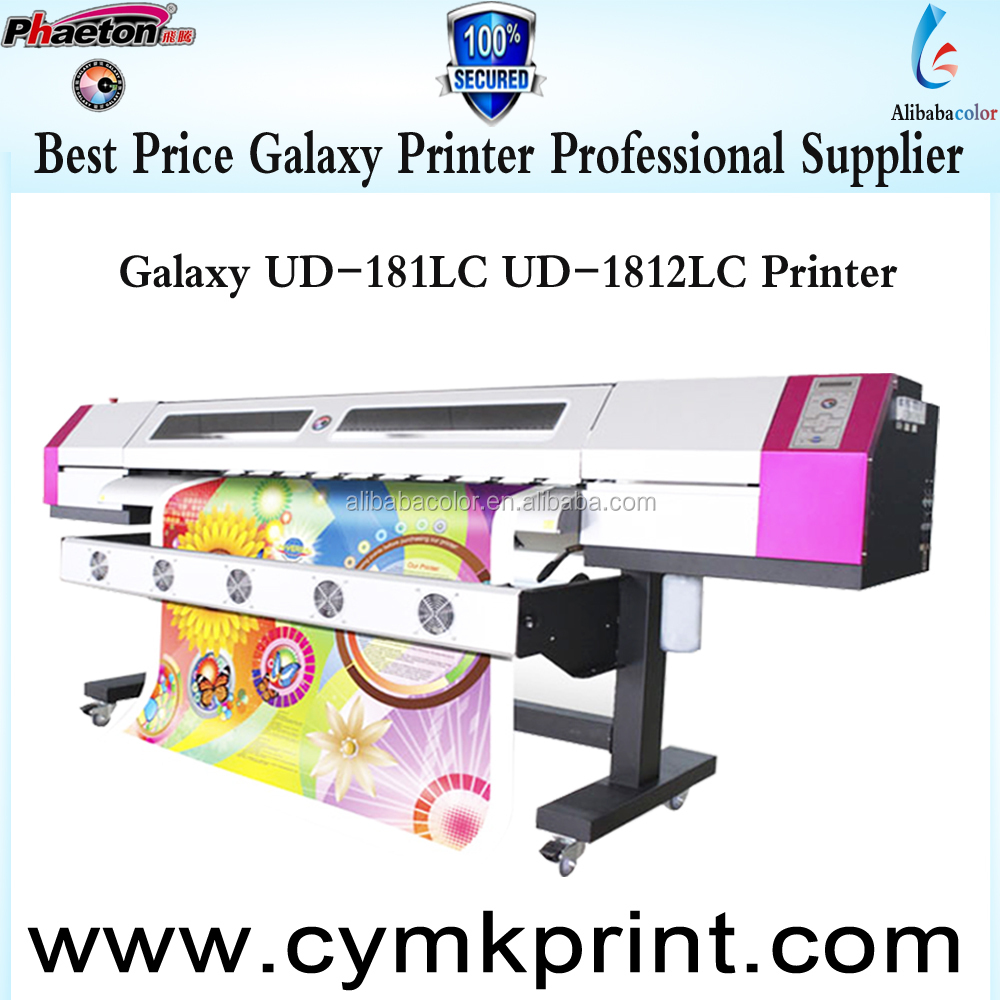 plotter printer galaxy dx5 head eco solvent printer ud-1812lc using photoprint rip software