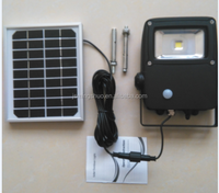Solar security light/lamp with motion sensor