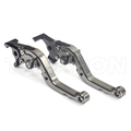 CNC Aluminum Short Folding Adjustable Billet Brake Clutch Lever For Triumph 675 Street Triple R