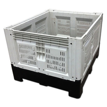 ISO SGS certified large foldable plastic bulk container for sale