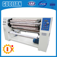GL-210-1000 manufacturer bopp self adhesive tape slitter rewinder machine