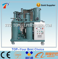 Waste used lubricating oil purifier machine,filters are washable,recover performance