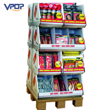 Heavy Duty Hardware & Tools Showcase Double Sided Cardboard Pallet Display