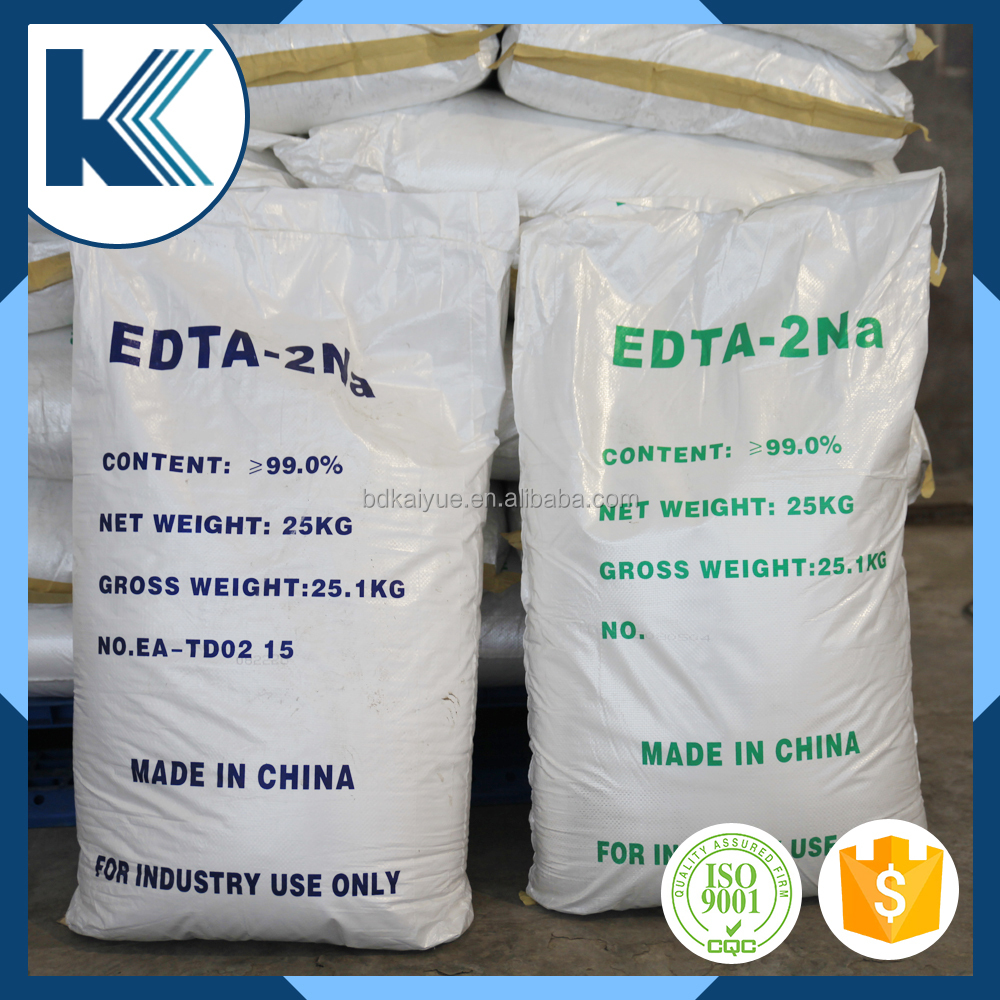 EDTA 2NA fertilizer 99% used in detergent/liquid soap