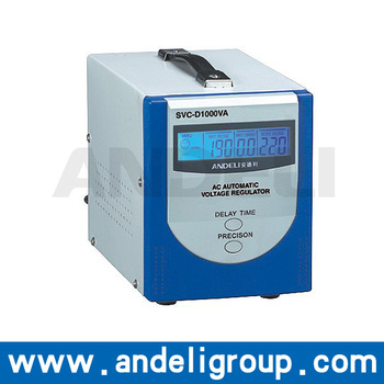 Latest product single phase automatic voltage stabilizers 0.5kva 1kva 1.5kva 2kva 3kva 5kva