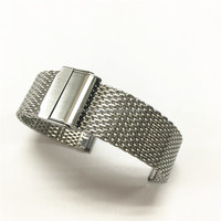 High-quality cheap stainless steel milanese shark mesh watch band wholesale