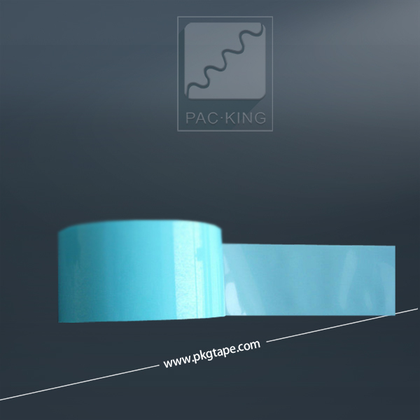 Heat Polyester PET blue tape for Powder Coating