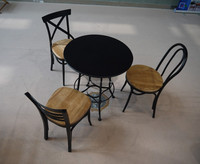 Wrought Iron Round Table Dining Table