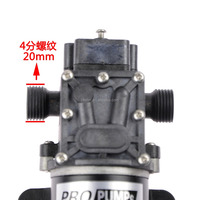 24v high pressure car washing water pumps, hot sale small pumps