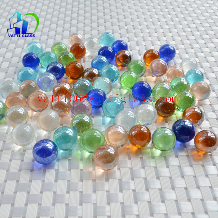 14mm pink purple blue colorful crystal glass ball sphere glass marbles
