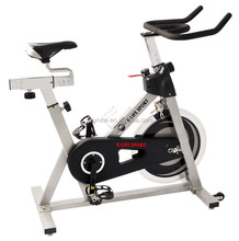 motorized wholesale exercise bike sport computer bicycle spin bike with monitor forfitness club exercise bike
