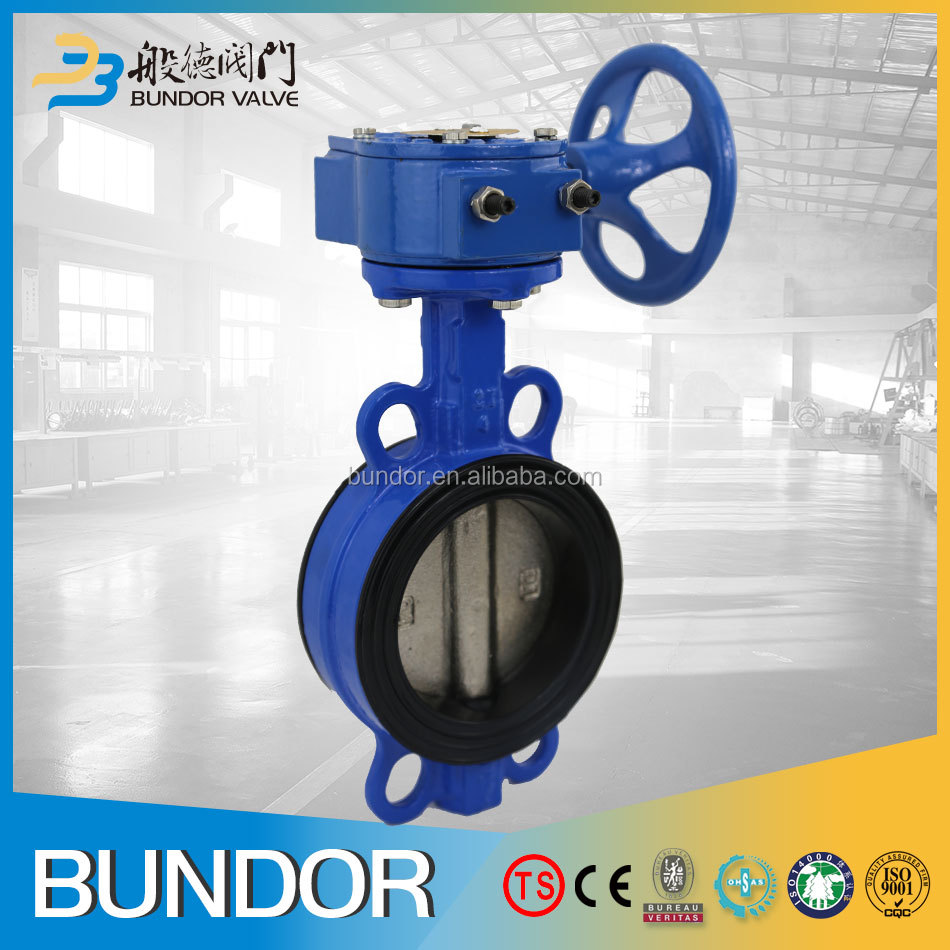 Rubber seat ggg40 ggg50 butterfly valve with handwheel