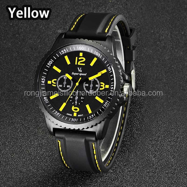 Fashion man three dial design watch