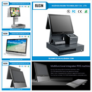 Touch Screen POS System terminal mahcine for Restaurants and Bars with Online Management Portal