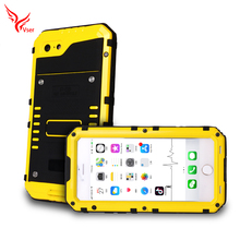 Full Protective With tempered glass IP 68 Dirt Proof Shockproof Silicone Rubber Waterproof phone case for iphone7 7plus