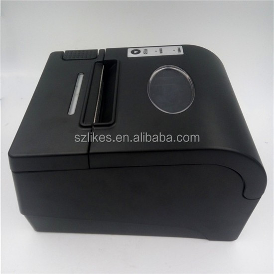 LKS-P80C LAN/USB/Serial optional single port 80mm POS Thermal Receipt Printer with auto-cutter