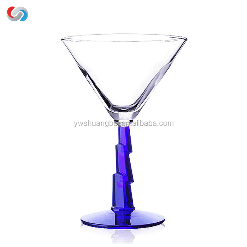 Personalized Stem Design Martini Glasses Cocktail Wholesale