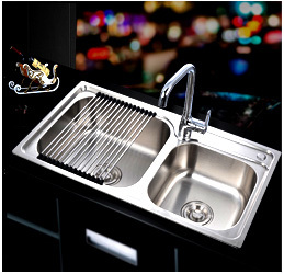 2016 Modern solid brass kitchen design sink faucet