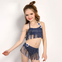 New Arrival Kids Little Girls Sexy Brazilian Bikinis Swimwear