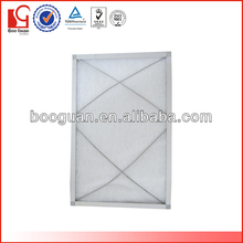 Pleated Panel Fan Air Filters