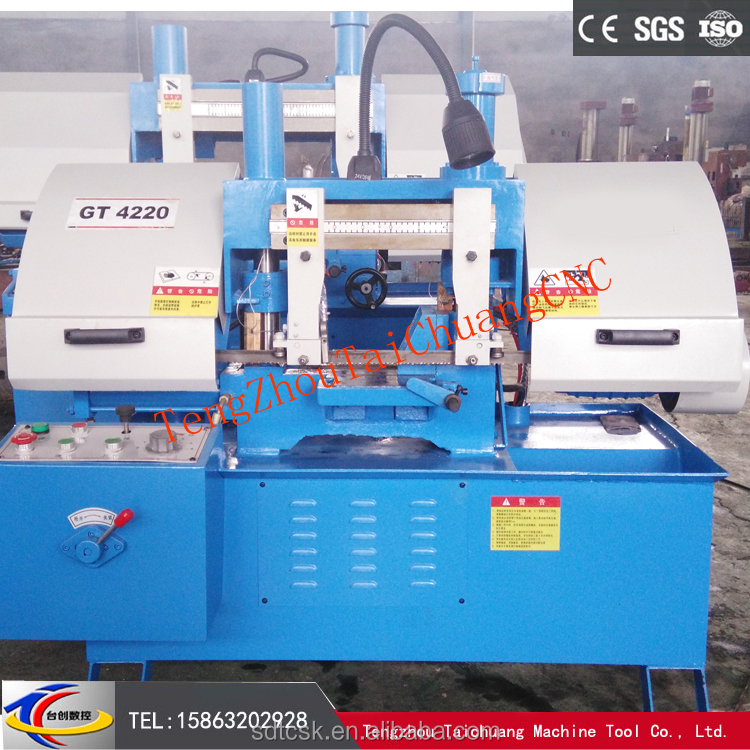 GT4235 Steady Cutting Double column Band Sawing Machine