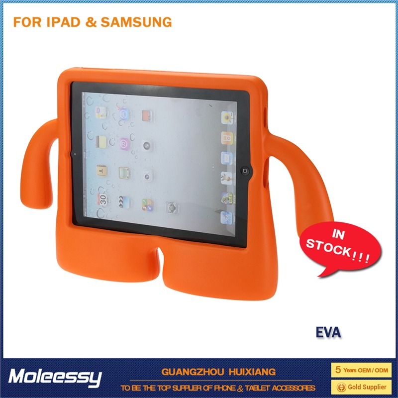 shockproof kids safe non-toxic eva case for ipad 4 case