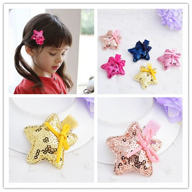 Latest hairbands design kids hair accessories star style unique bowknot hair decoration/accessories for little girls PHC-0401