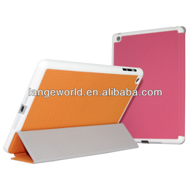 2013 Flip Stand book Leather Case Cover for new apple ipad mini with Auto Sleep Wake Function