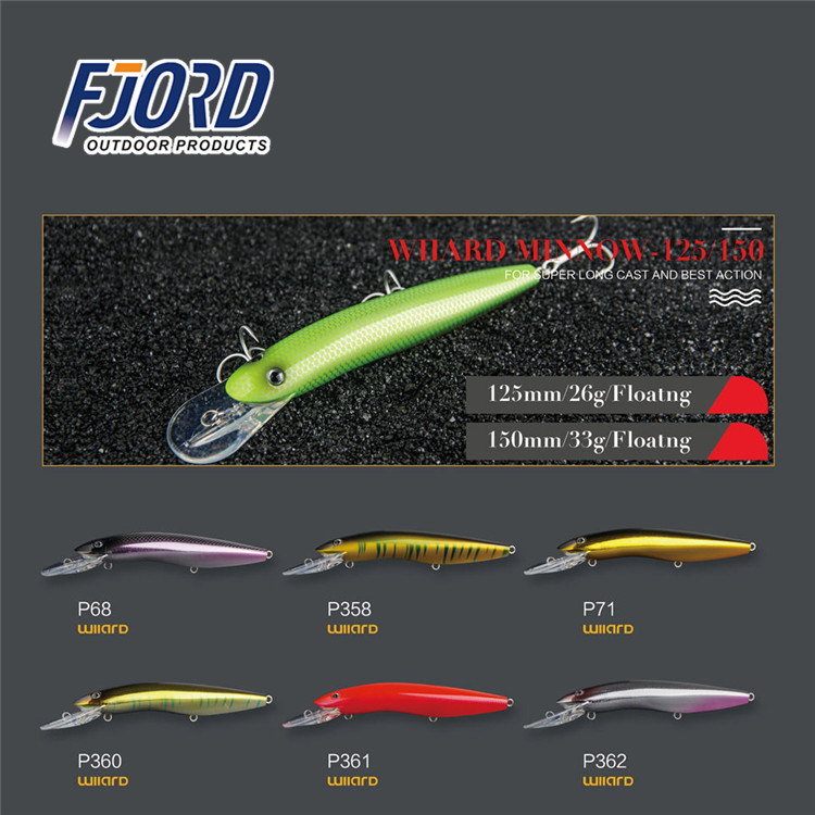 FJORD 2017 artificial topwater minnow fishing lures for saltwater imported from china chinese swimbait lure manufacturers