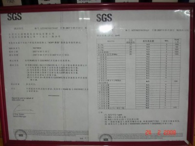 SGS Test Certification