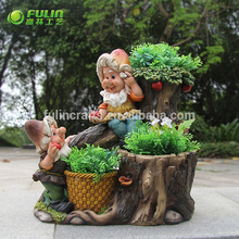 Factory directly sale lightweight animal plant pot wholesale