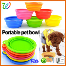 Small 5.5'' cheap plastic dog bowls