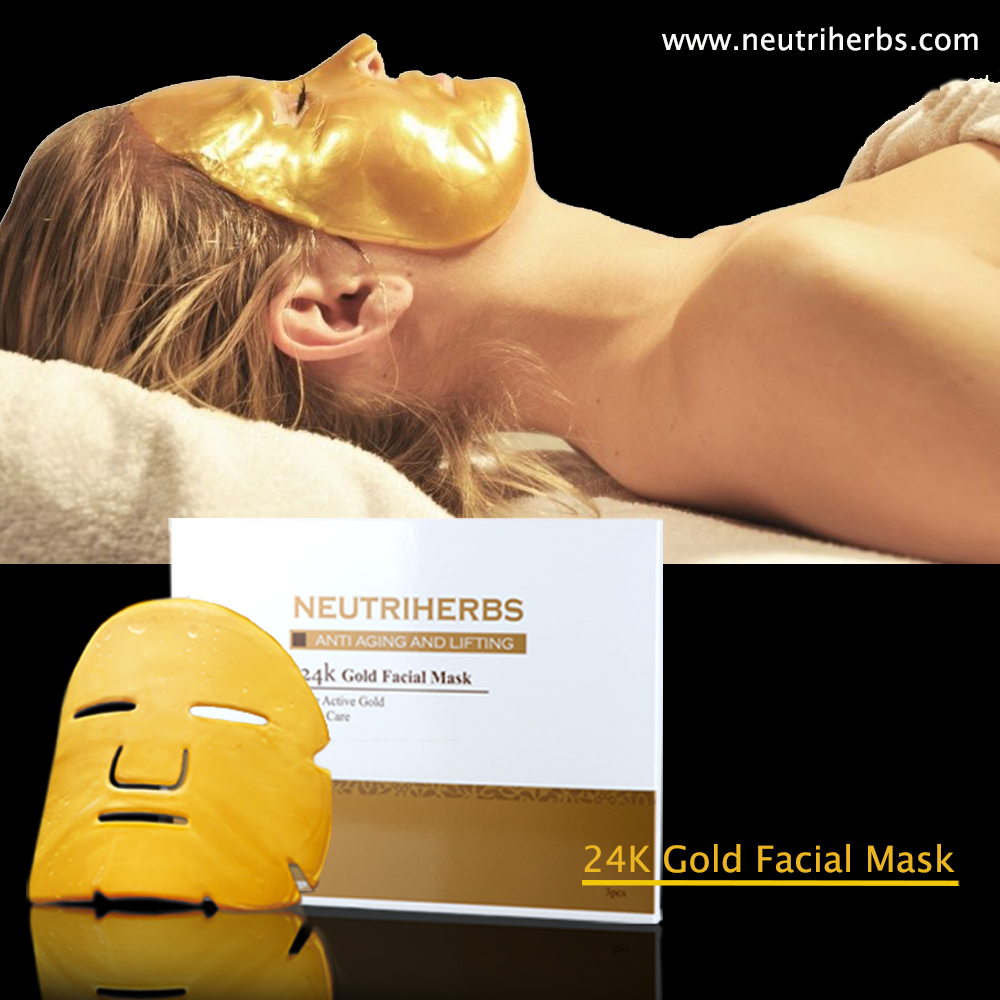 OEM Facial Mask Gold Bio-Collagen Facial Mask Beauty Facial Mask for Moisturizing and Protect Our Skin