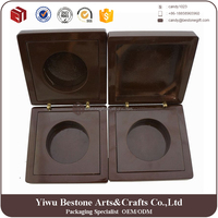 Factory Custom Top Quality Wooden Coin