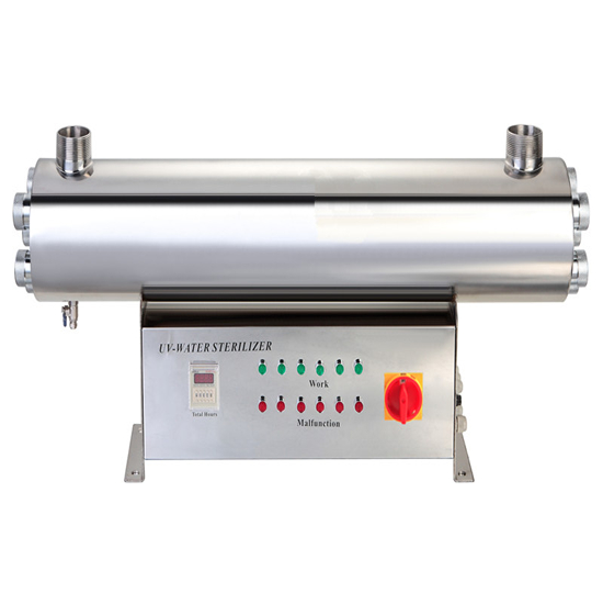 Factory Wholesale 320W 15.0T/H 304 stainless Aquaculture UV Light Sterilizer to disinfect the waste <strong>water</strong>