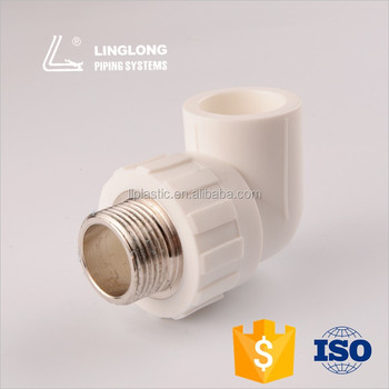 China manufacturer male elbow ppr pipe fittings