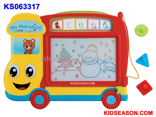 PRESCHOOL EDUCATIONAL BABY LEARNING STEERING WHEEL WITH SOUNDS & LIGHT