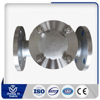 Stainless Steel 1/2 -12 inch Class150/300 ball float check valve for compressors