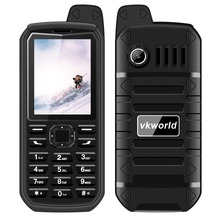 VKWORLD Rugged Waterproof Cell Phone MTK6261 Rugged Dustproof Phone 4000mAh Shockproof Outdoor Phone Multi-Language V3 PLUS