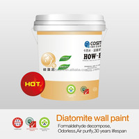 Diatomaceous earth wall paint,Alternative to latex paint,100% eco-friendly