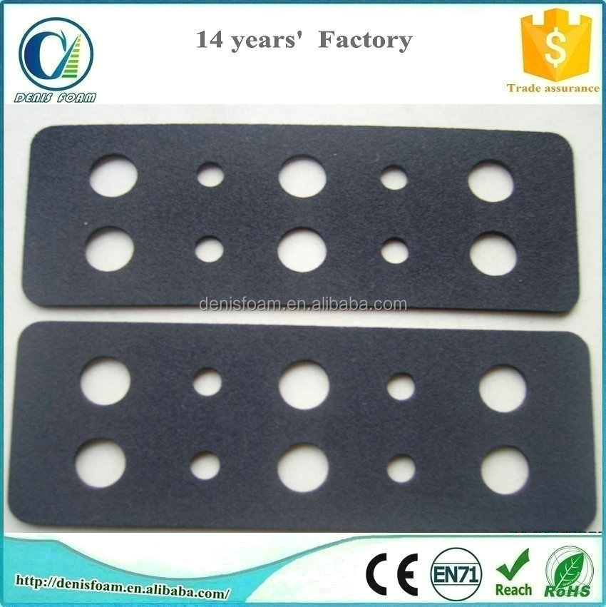 waterproof foam pad of chemical resistance