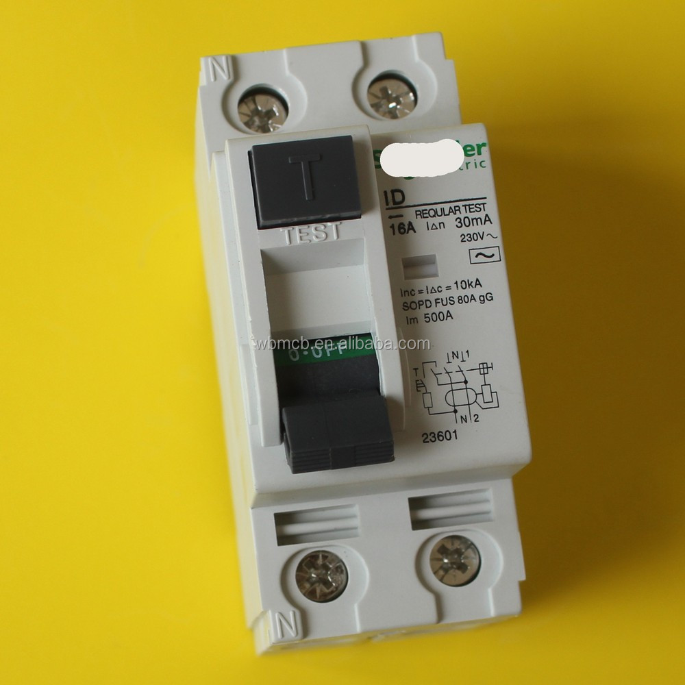 16210 ID/RCCB 300mA 2P Earth Leakage 63A (for Industrial use) CIRCUIT BREAKER