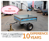 Light trailer strong box trailer