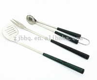 BBQ GOLF TOOL SET OF 3 W/S.S. TPR HANDLE