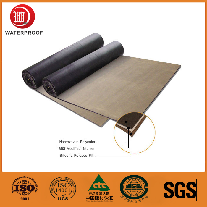 High Polymer waterproofing roll roofing pvc materials good Flexibility