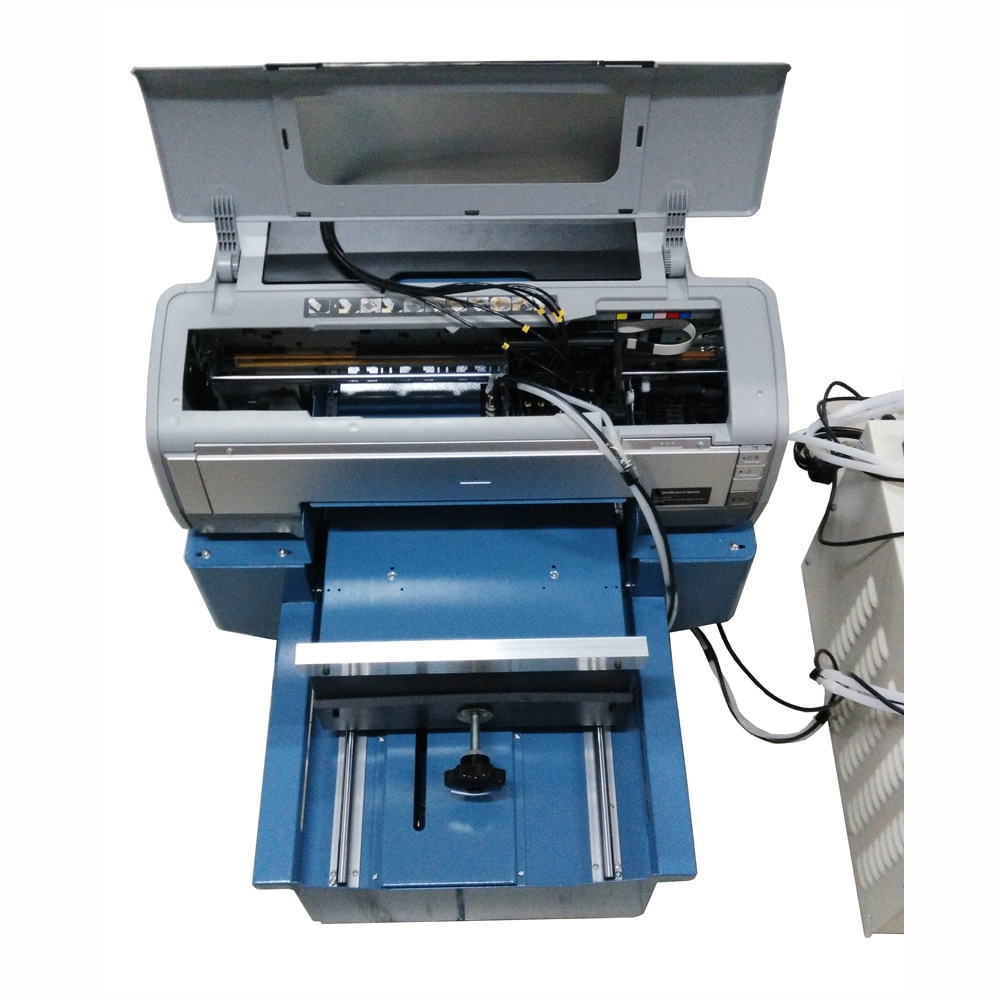 Flatbed Uv Dtg T Shirt Printer 1390 Plate Type And Cloths