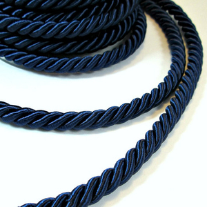 Fashionable silk rope cord low price thick silk cord 2mm silk cord