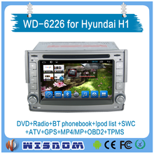 highest quality car navigation entertainment system for hyundai h1 car multimedia audio video support bluetooth swc wifi obd2 bt