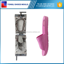 Aluminum Material PCU Slipper Blow Mold Moulding Shoe